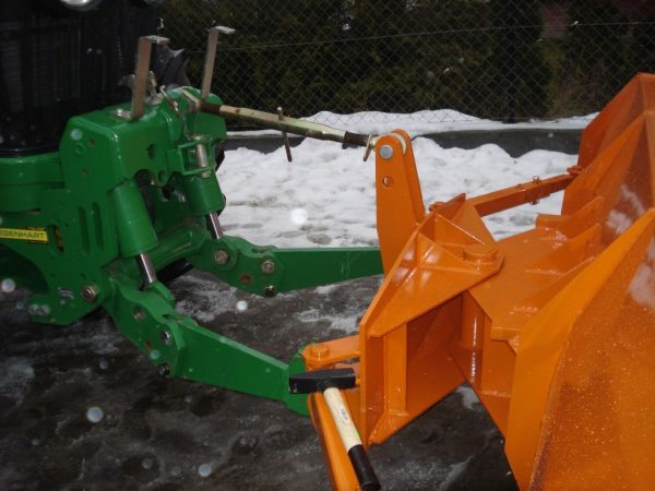 Pług do śniegu, szerokość 3 m