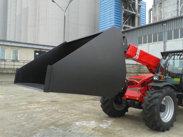 Łyżka do materiałów sypkich szerokość 2 m