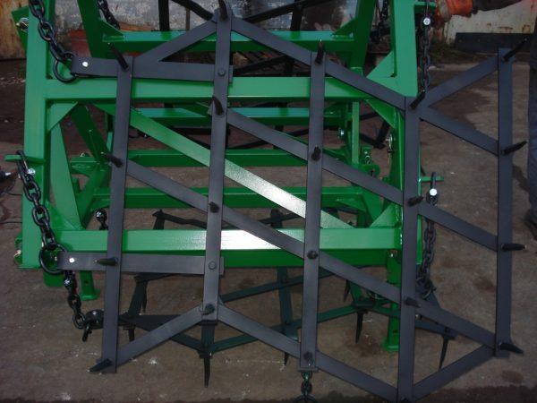 Rama bron 3 polowa z hydrauliką, szerokość robocza 3.20 metra