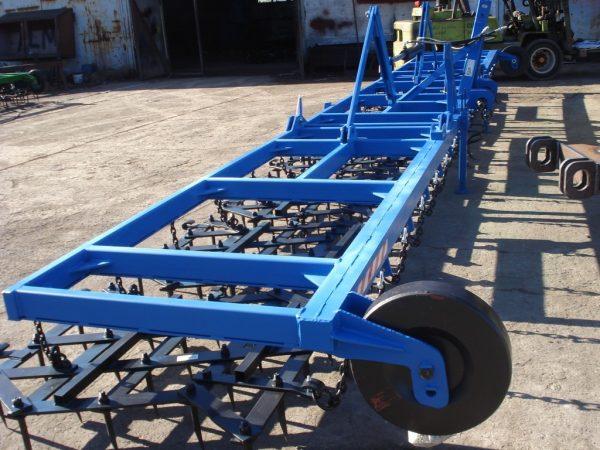 Rama bron 7 polowa z hydrauliką i SPULCHNIACZAMI szerokość robocza 7.50 metra