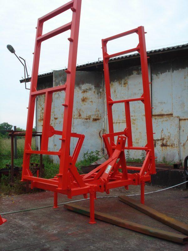 Rama bron 8 polowa z hydrauliką, szerokość robocza 8.50 metra