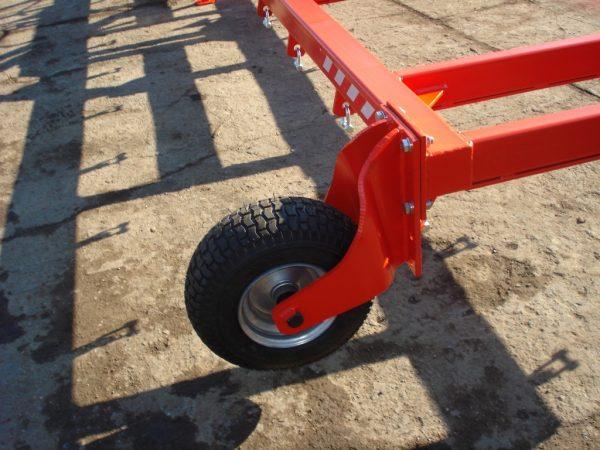 Rama bron 9 polowa z hydrauliką, szerokość robocza 9.50 metra
