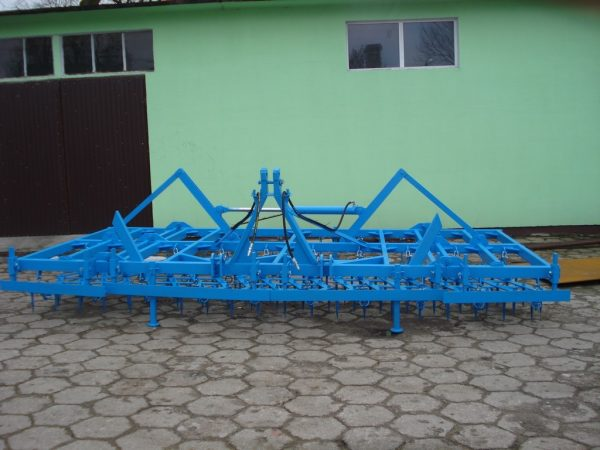 Rama bron 10 polowa z hydrauliką, szerokość robocza 5.50 metra