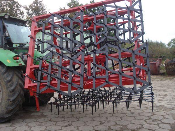 Rama bron 12 polowa z hydrauliką, szerokość robocza 6.50 metra