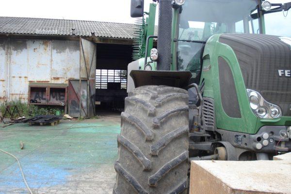 Rama bron 12 polowa z hydrauliką z POLAMI POSZERZANYMI, szerokość robocza 8.50 metra