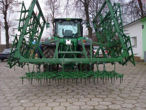 Rama bron 14 polowa z hydrauliką, szerokość robocza 7.50 metra