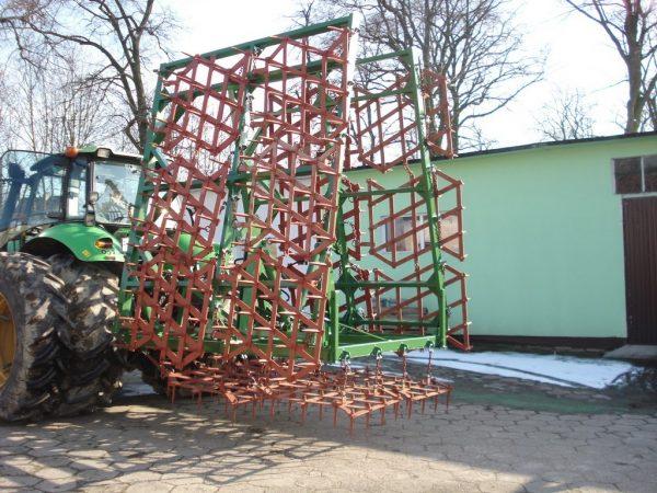 Rama bron 16 polowa z hydrauliką, szerokość robocza 8.50 metra