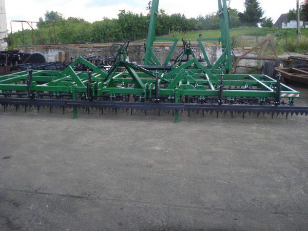 Rama bron 12 polowa z hydrauliką kompletna z WŁÓKĄ UCHYLNĄ, szerokość robocza 6.50 metra