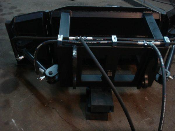 Spych do obornika, szerokość 1.8 m, ładowarka JCB
