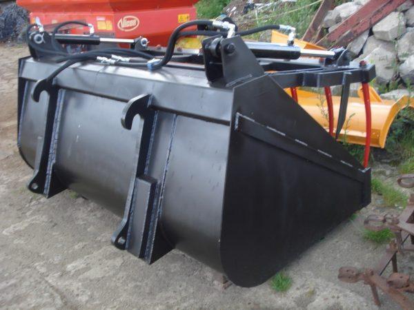 Łyżka chwytakowa, szerokość 2.40 m, ładowarka JCB