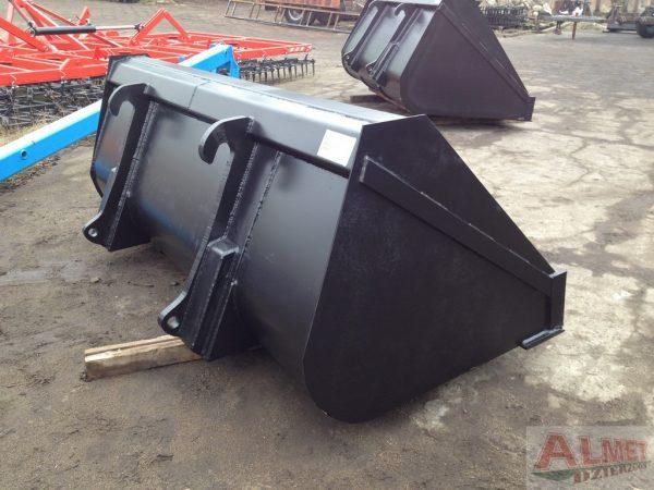 Łyżka JCB lemiesz ze stali HB 500 szerokość 2.30 m