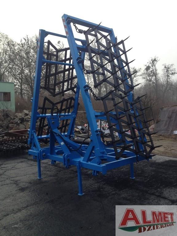 Rama bron 6 polowa z hydrauliką, szerokość robocza 6.50 metra
