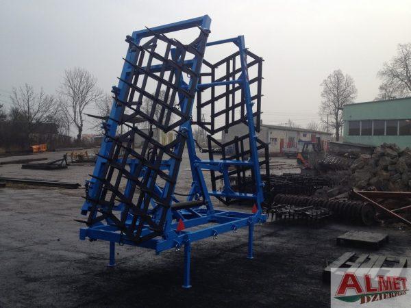 Rama bron 6 polowa POSZERZANA z hydrauliką, szerokość robocza 6.50 metra