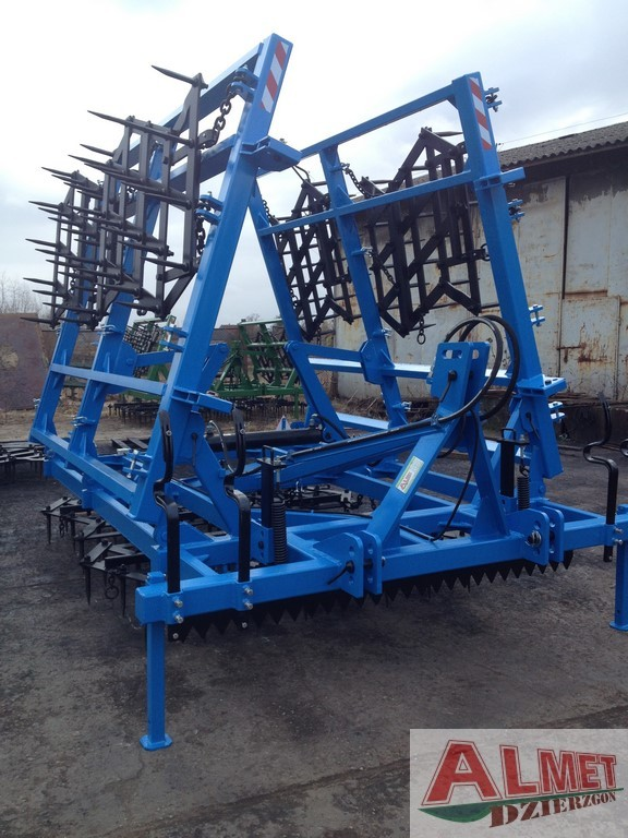Rama bron 12 polowa z hydrauliką, OŚWIETLENIEM, włóką, szerokość robocza 6.50 metra