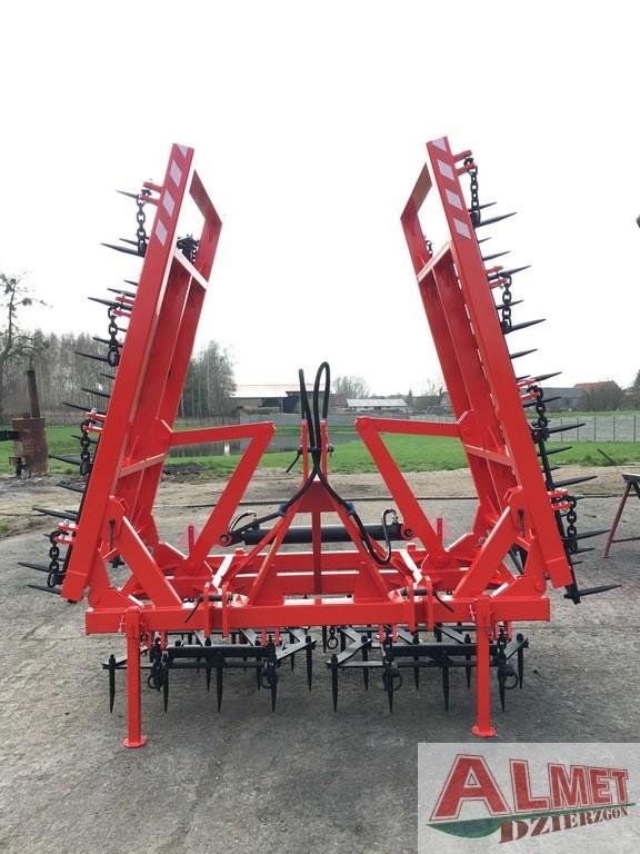 Rama bron 6 polowa z hydrauliką i spulchniaczami, szerokość robocza 6.50 metra